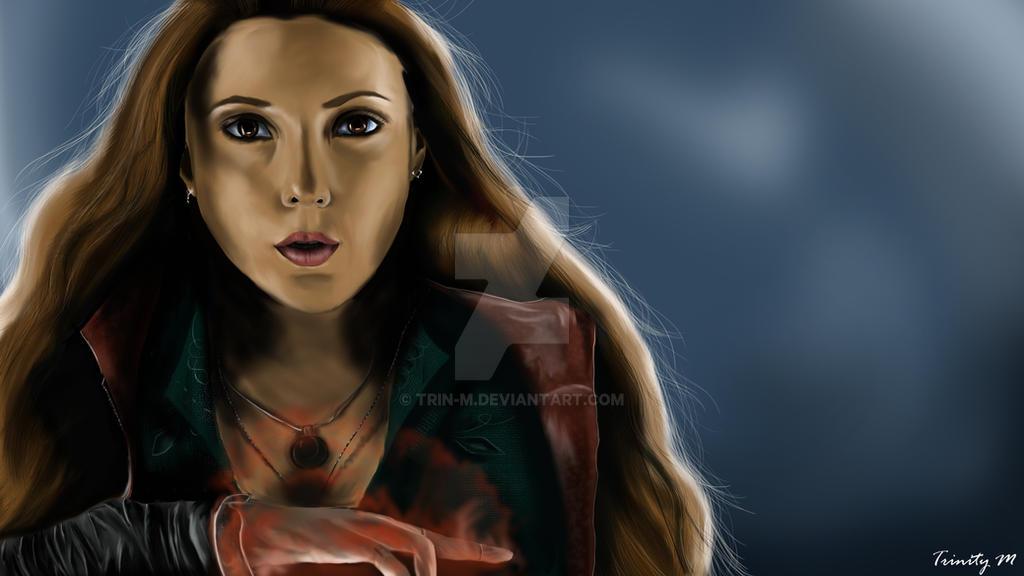 Scarlet Witch by Trin-M