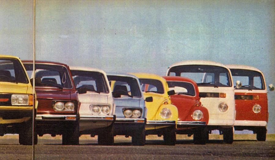1980 VW's brazilian line-up by broettonavarro on DeviantArt