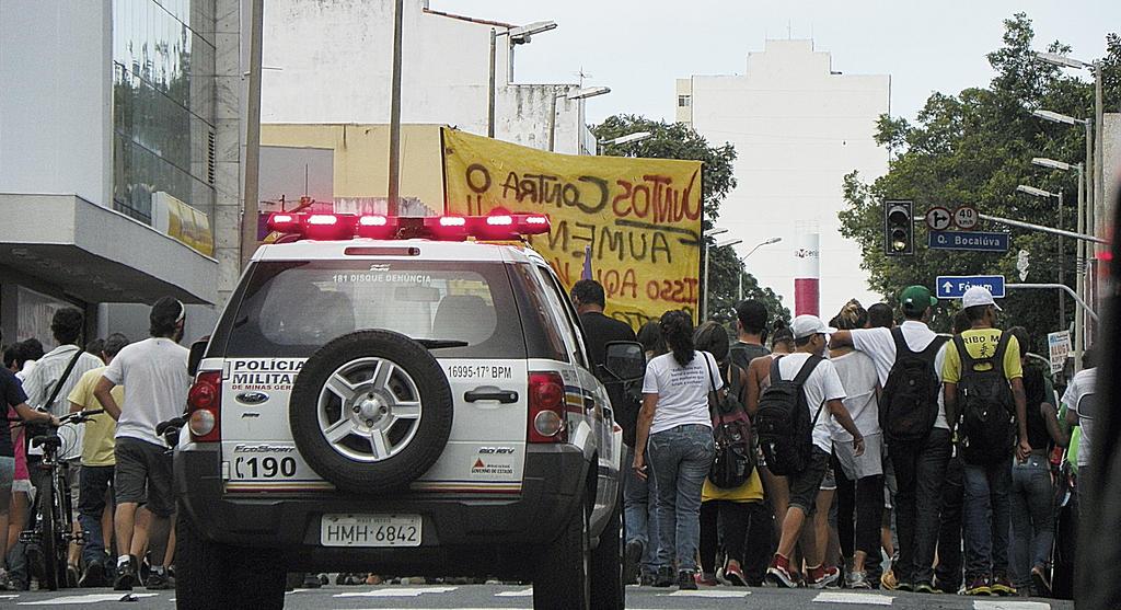 Brazilian Protests by broettonavarro