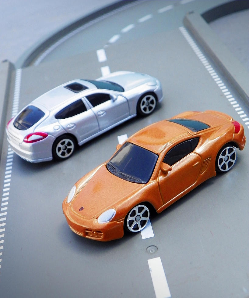 Porsche Duo by broettonavarro
