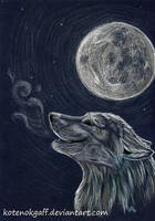 Night breath by kotenokgaff