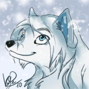 Frostbite icon commission by kotenokgaff