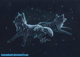 Star wolfes by kotenokgaff