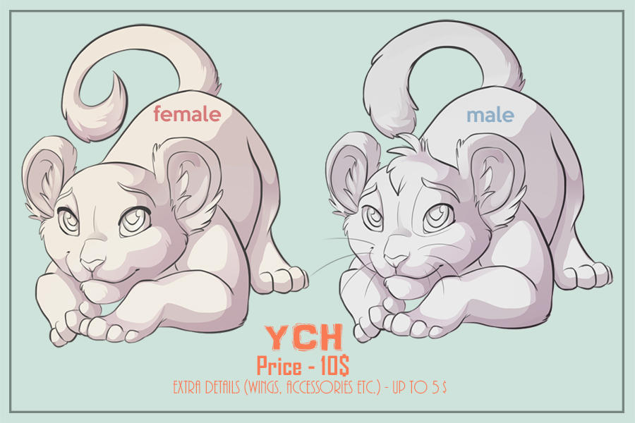 YCH Felines unlimited slots