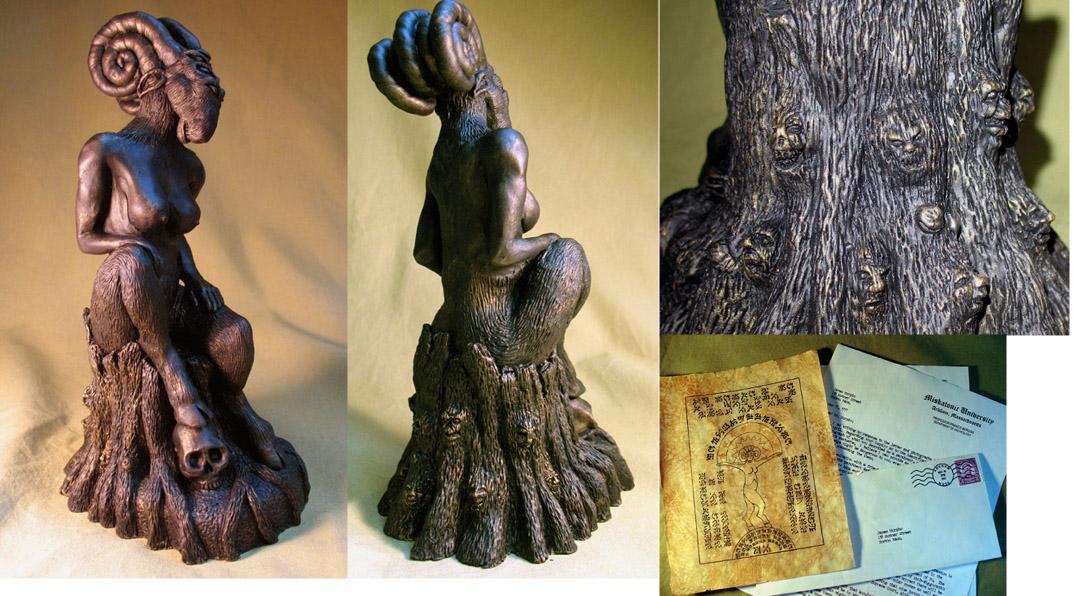 Lovecraft's Shub-Niggurath by zombiequadrille