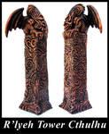 Lovecraft's R'Lyeh Tower Cthulhu -  MU Edition