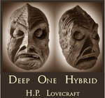 H.P. Lovecraft - Deep One Hybrid Death Mask