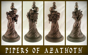H.P. Lovecraft - The Pipers of Azathoth by zombiequadrille