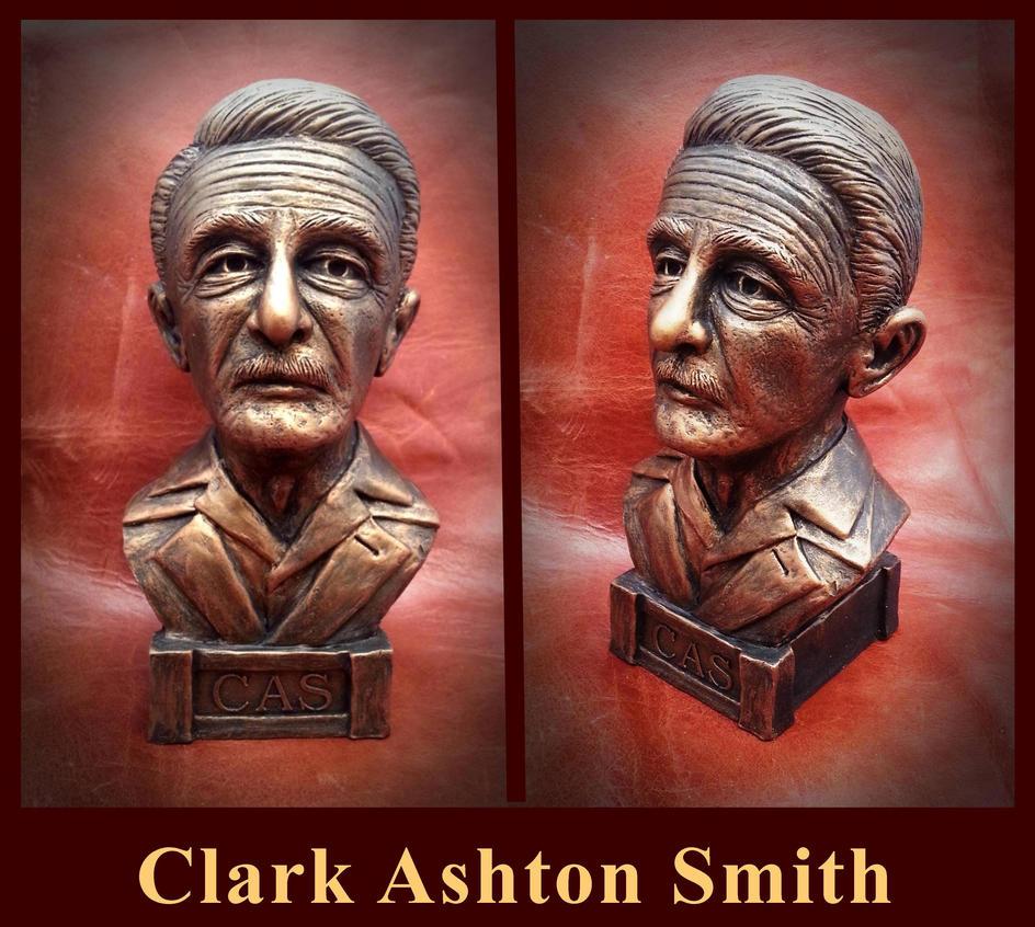 Clark Ashton Smith by zombiequadrille