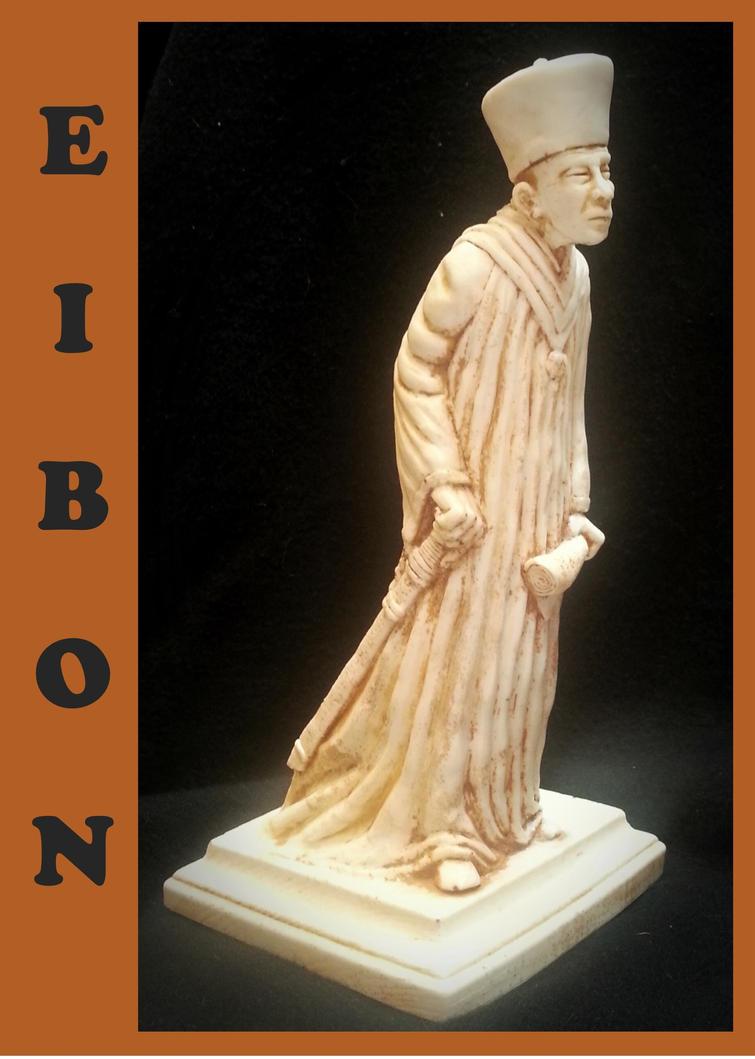 Clark Ashton Smith's Sorcerer Eibon in Ivory by zombiequadrille