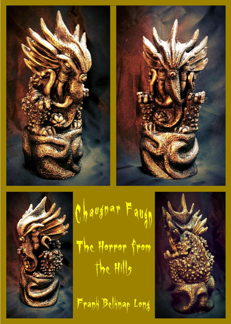 Chaugnar Faugn - The Horror from the Hills by zombiequadrille