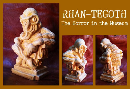 Rhan-Tegoth, The Horror in the Museum - Lovecraft