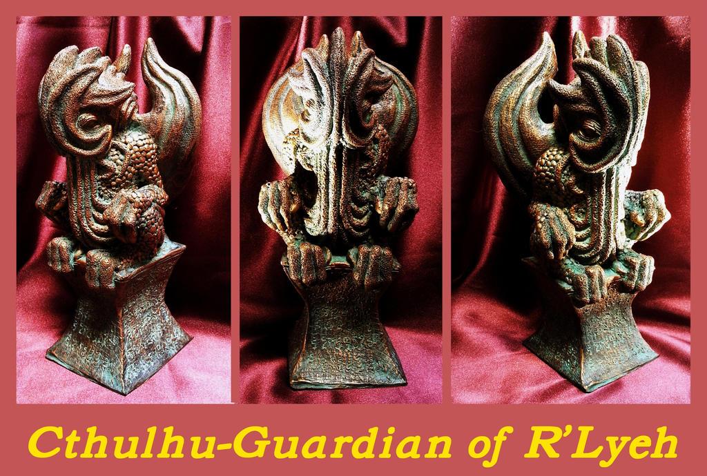 Cthulhu-Guardian of R'Lyeh