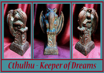 Cthulhu - Keeper of Dreams by zombiequadrille