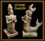 Stone Dagon Idol - Cthulhu Mythos
