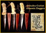 Cthulhu Cultist Assassin Daggers