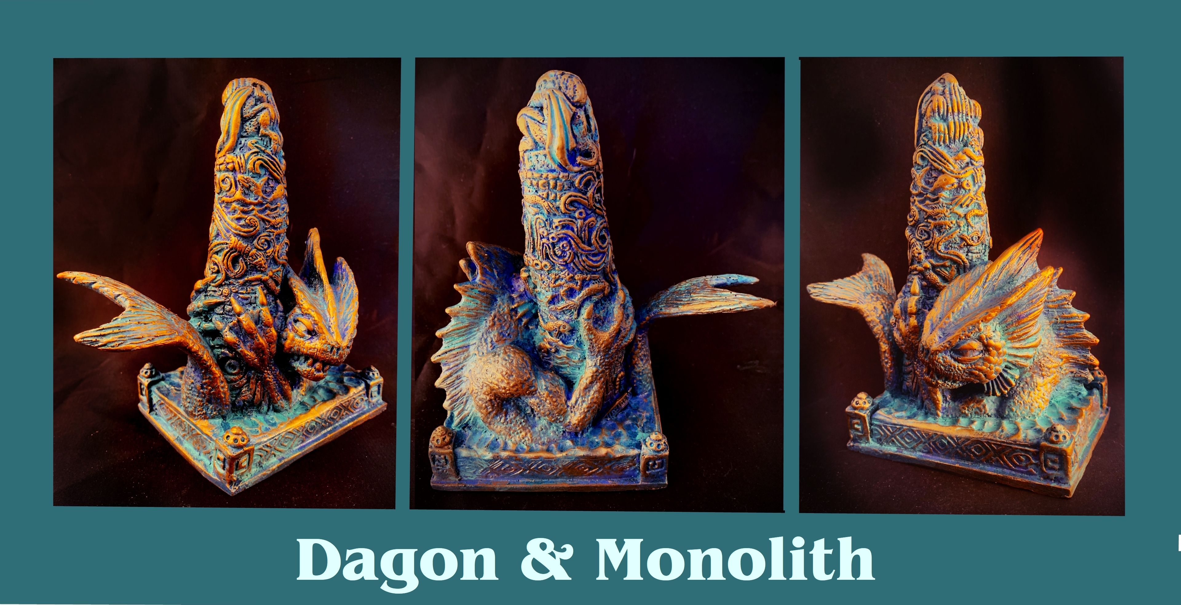 Dagon at the Monlith