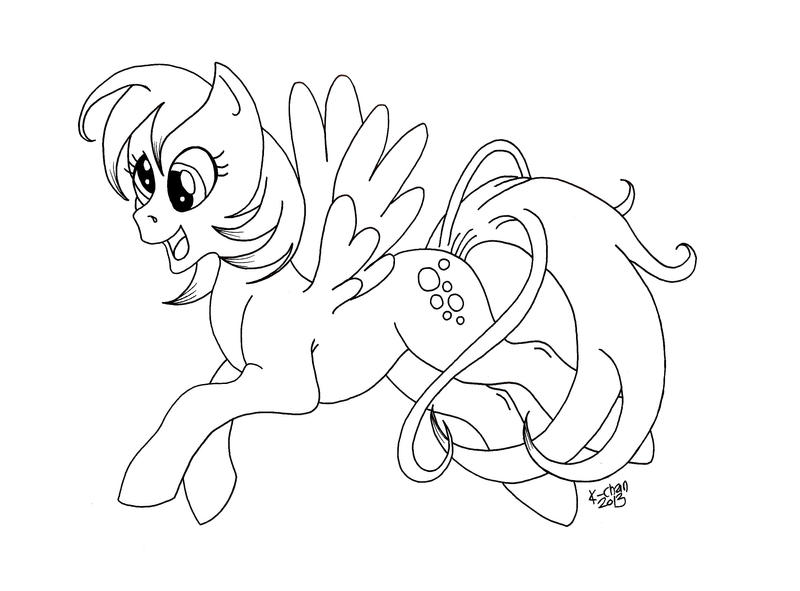 My Little Pony Derpy Coloring Pages : Derpy coloring pages