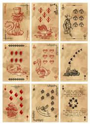 Alice in Wonderland Card Deck - Part 3