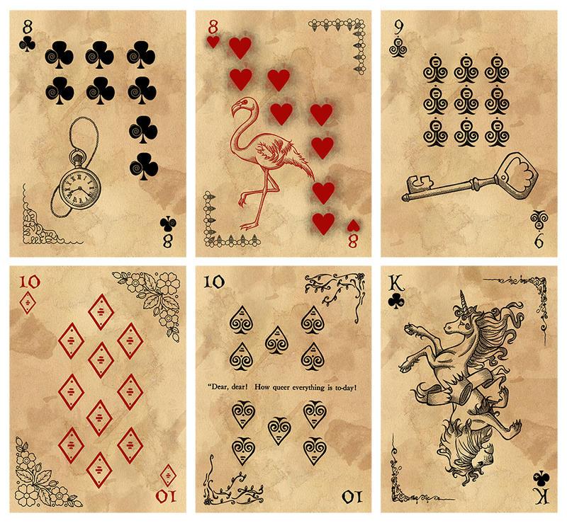 Alice in Wonderland Card Deck - Part 4 by Karla-Chan on ...