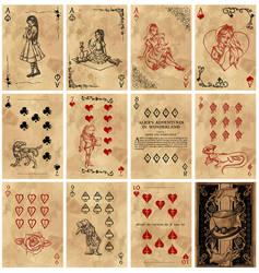 Alice in Wonderland Card Deck - Part 5