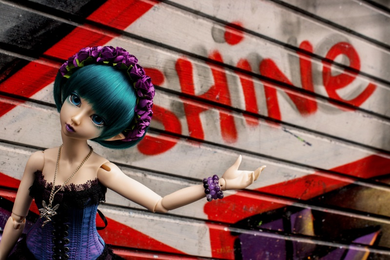 Myfi graffiti II by Karla-Chan