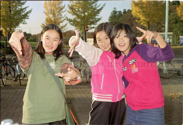 Koekake at the Park by kiguda