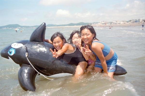 Koekake at the Beach by kiguda
