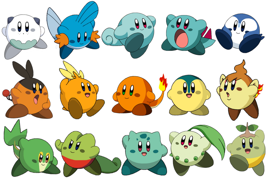 All Kirby Forms For Pinterest