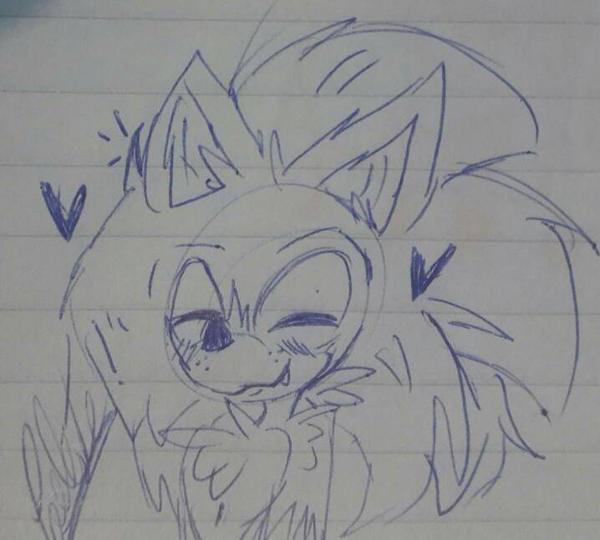 Sonic The Hedgehog by AmyZuzucki