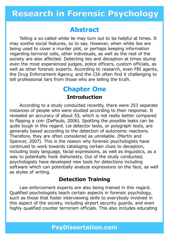 Psychology dissertation example college acceptance essays
