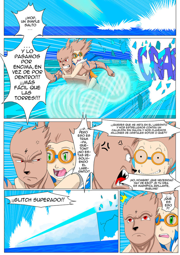 BnB (Spanish) Aura y Queton isla file pag 12 by Color-Arcano on ...