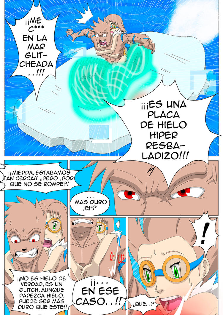 Bnb (Spanish) Aura y Queton isla file pag 18 by Color-Arcano on ...