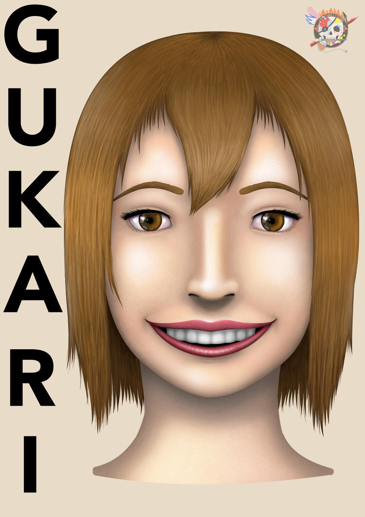 Gukari Portrait 2014 by Color-Arcano