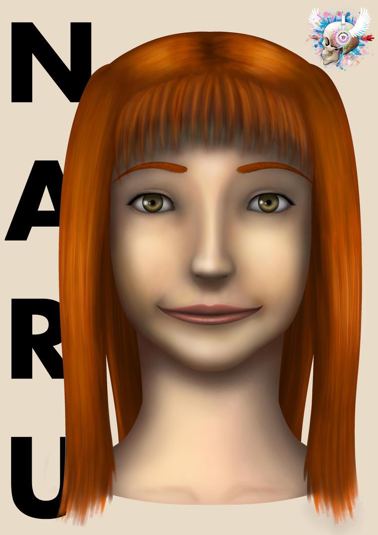 Naru Portrait 2015 by Color-Arcano