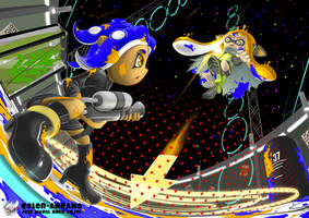 8 vs 3 by Color-Arcano
