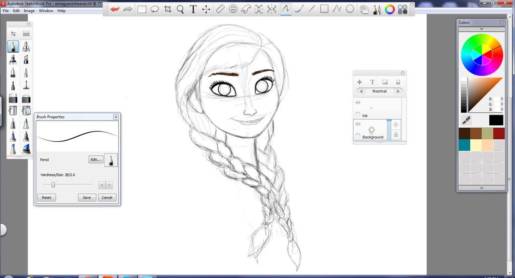 Autodesk sketchbook tutorial 17