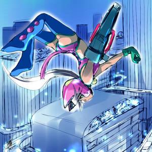 Lilykat-color sketch