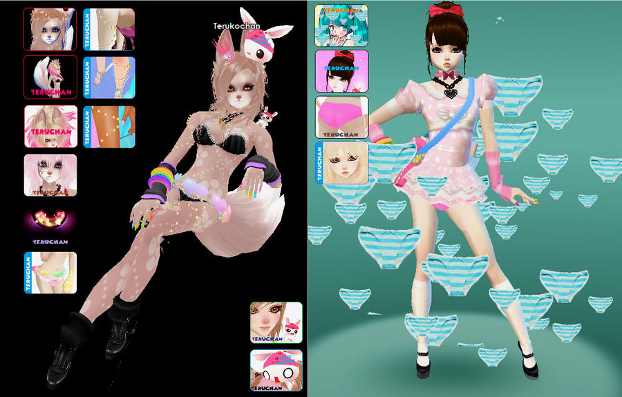 my newst 3d products :3 by Teruchan
