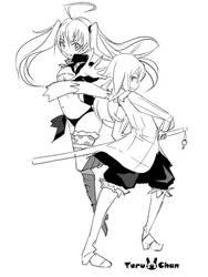 Rimuru and Milimu Wip by Teruchan