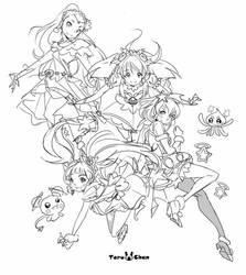 Star Twinkle PreCure Wip by Teruchan