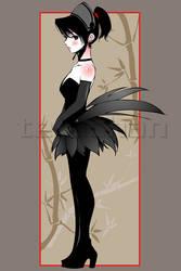 silent maid by Teruchan