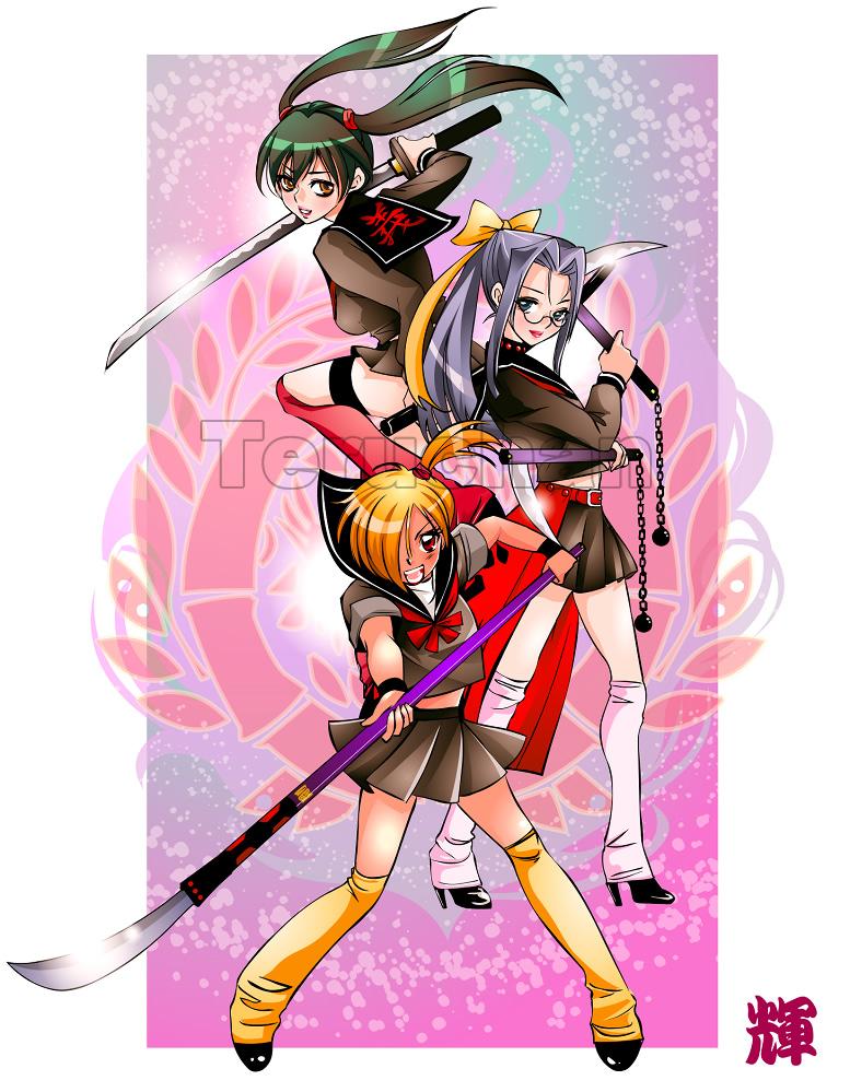 fighter of 3SailorGirls by Teruchan