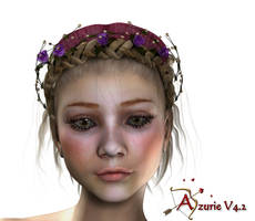 Azuie 02 by Maikaefersart