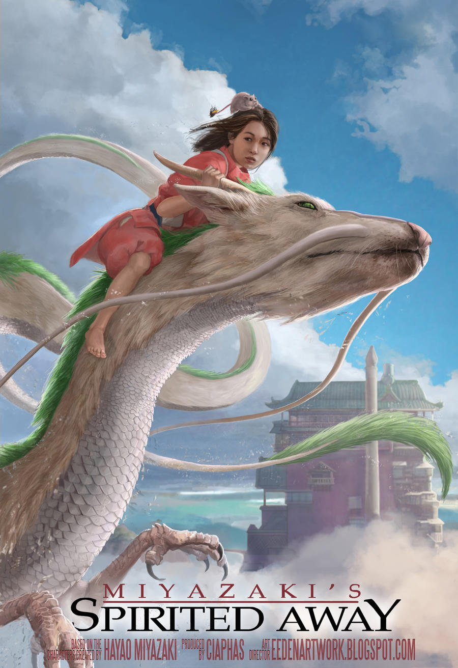 Spirited Away Cover Remake V2 by Eedenartwork