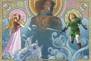 The Legend of Zelda: The Wind Waker by Eedenartwork