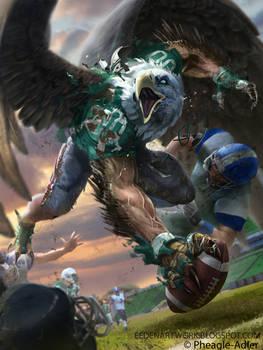 Eagle Footballer