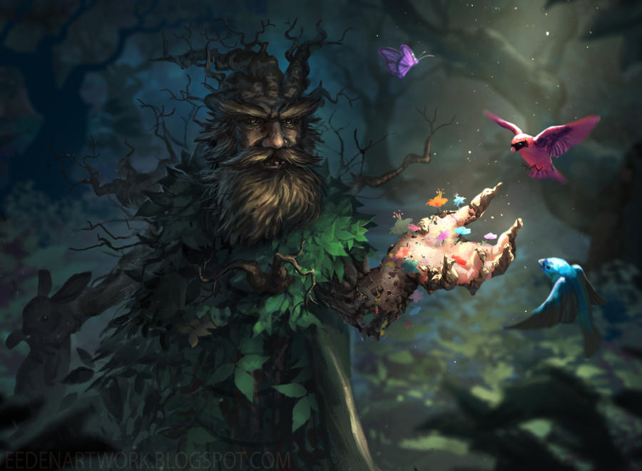 Forest Hobo by Eedenartwork
