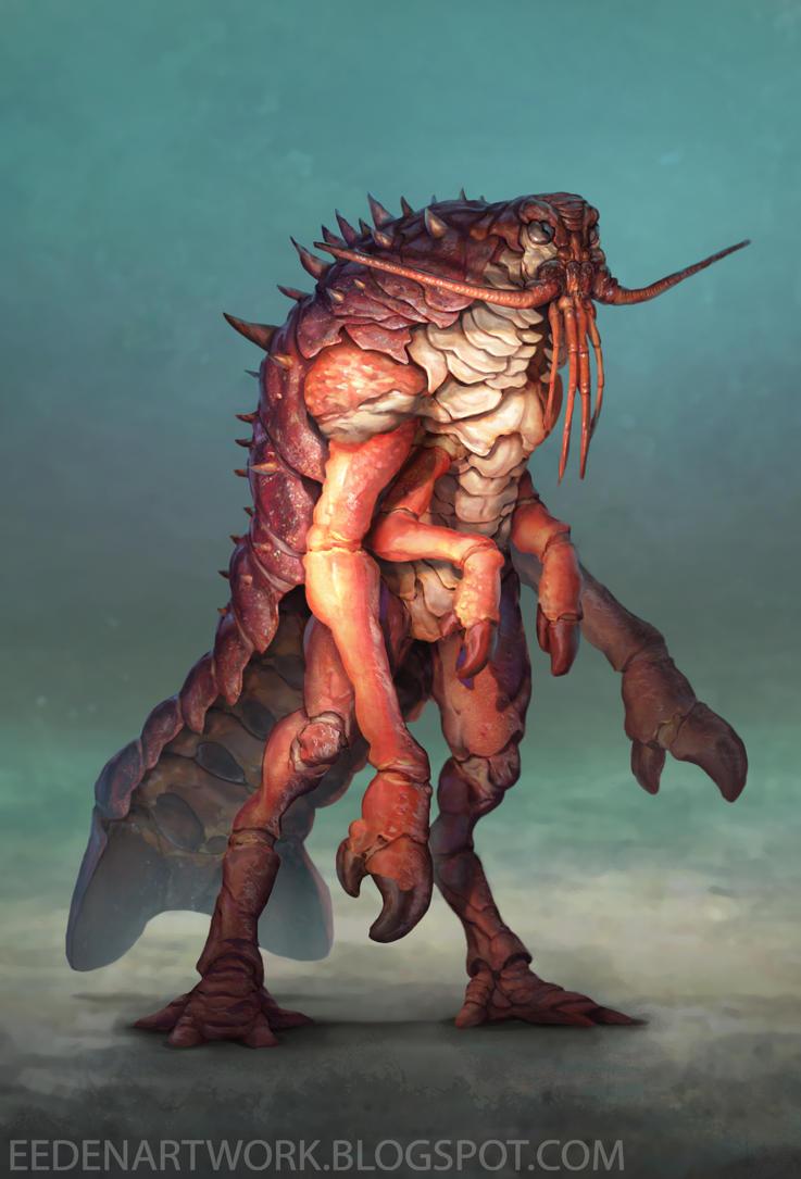 Lobstermonsterfinal by Eedenartwork
