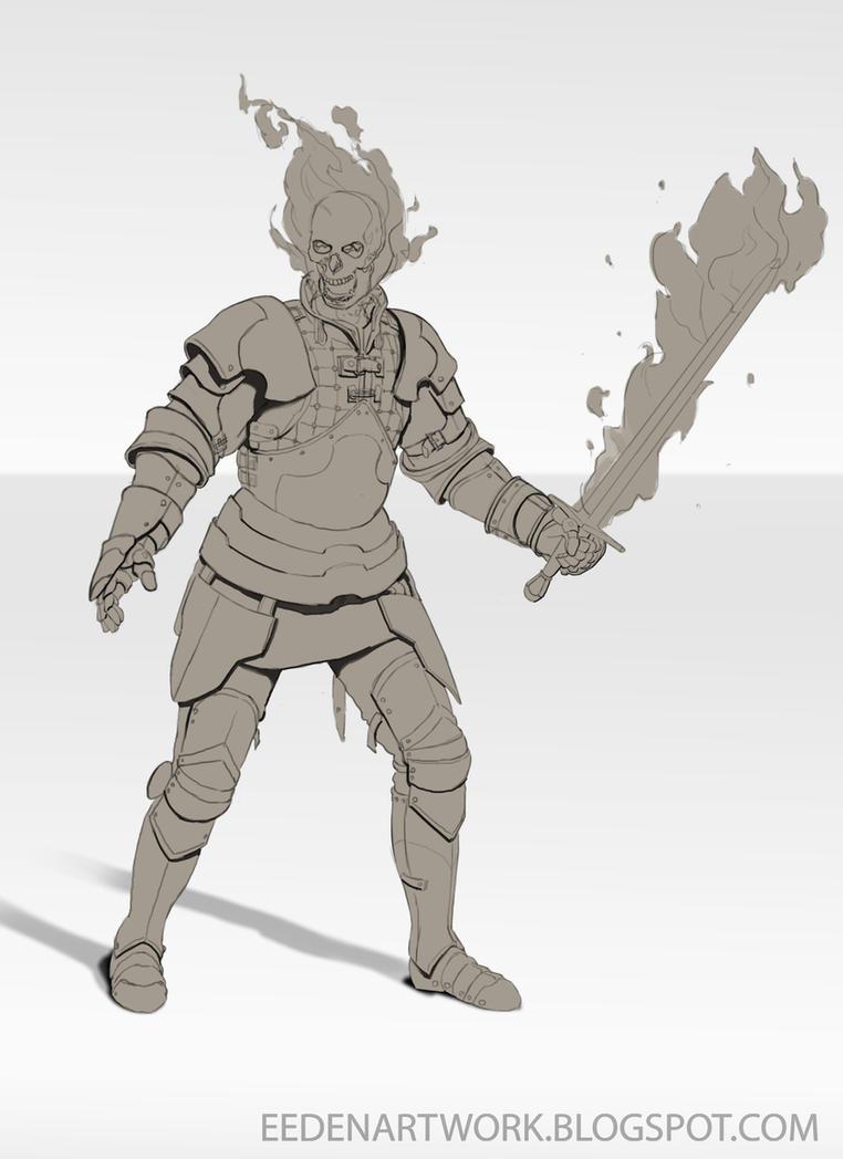 Skeleton Concept 1 by Eedenartwork